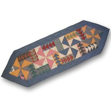 Fall Windmills Table Runner