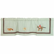 "Fox Hunt 54"" Curtain Valance"