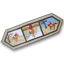 Fox Hunt Table Runner