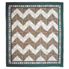 <strong>Patch Magic</strong> Peasant Log Cabin Quilt