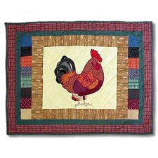 Rooster Cotton Sham