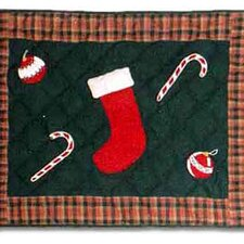 Santa By The Fireside Pillow Sham