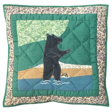 Wilderness Bear Toss Pillow