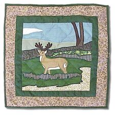 Wilderness Deer Toss Pillow