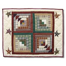 <strong>Patch Magic</strong> Woodland Star And Geese Standard Pillow Sham