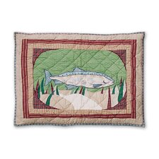 Gone Fishing Standard Pillow Sham