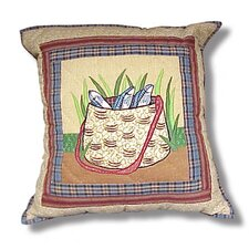 Gone Fishing - Bag Toss Pillow