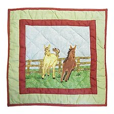 Horse Toss Pillow