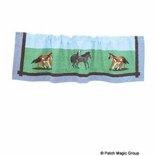 "Horse Friends 54"" Curtain Valance"