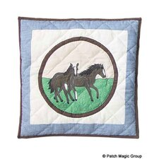 Horse Friends Toss Pillow