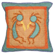 Kokoepelli Toss Pillow