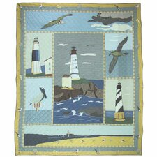 Lighthouse by Bay Quilt