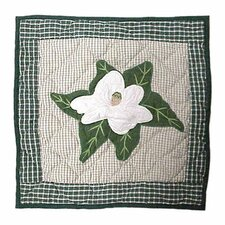Magnolia Blossoms Toss Pillow