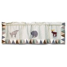 <strong>Patch Magic</strong> Mountain Whispers Cotton Curtain Valance