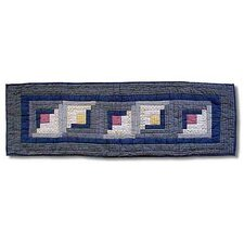Sail Log Cabin Table Runner