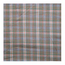 "Beach Critters Plaid Rod Pocket 54"" Curtain Valance"