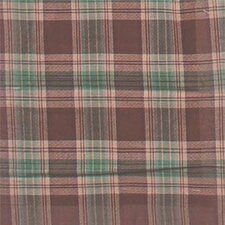 Brown and Green Plaid Bed Skirt / Dust Ruffle