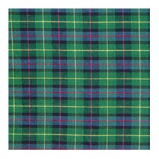 Green Tartan Plaid Cotton Curtain Panel (Set of 2)