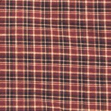 Dark Red and Black Plaid Napkin (Set of 4)
