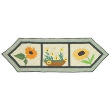 Yellow Field Table Runner