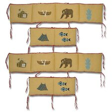 Cabin 4 Piece Bumper Pad Set