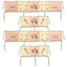 Fairy Tale Princess 4 Piece Bumper Pad Set