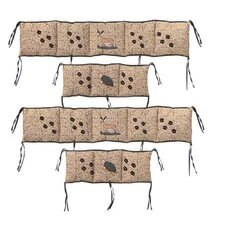 Wilderness 4 Piece Bumper Pad Set