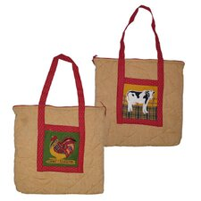 Barnyard Purse Tote Bag