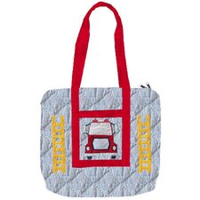 Fire Truck Purse Tote Bag
