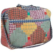 Harvest Log Cabin Shoulder Bag