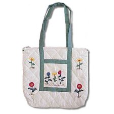 Wildflower Purse Tote Bag