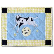 Hey Diddle Diddle Cotton Crib Toss Pillow