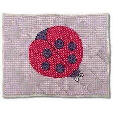 Ladybug Crib Toss Pillow