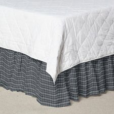 Plaid Fabric Dust Ruffle