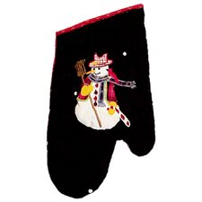 <strong>Patch Magic</strong> Frosty Snowman Oven Mitt