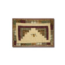 Forest Log Cabin Place Mat