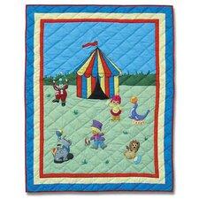 Circus Cotton Crib Quilt