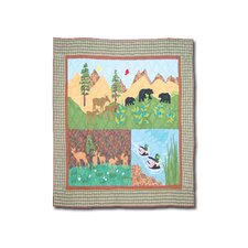Natures Splendor Cotton Crib Quilt