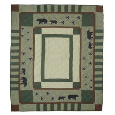 Bear Trail Luxury Quilt