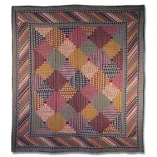 Harvest Log Cabin Quilt