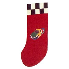 Racecar Stocking