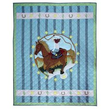 <strong>Patch Magic</strong> Lil Yeeehaw Cotton Throw