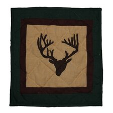 Deer Trail Cotton Toss Pillow