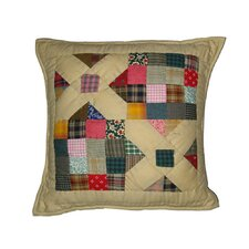 Treasures in The Attic Cotton Toss Pillow