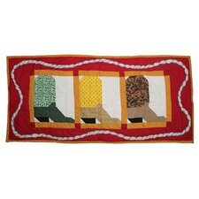 Boots Table Runner