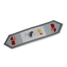 Fire Truck Table Runner