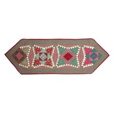 Yuletide Stars Table Runner