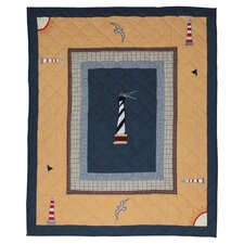 <strong>Patch Magic</strong> Lighthouse Trail Cotton Throw