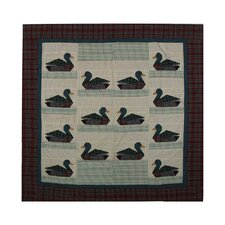 Ducks Cotton Shower Curtain