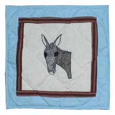 <strong>Patch Magic</strong> Mule Trail Cotton Pillow